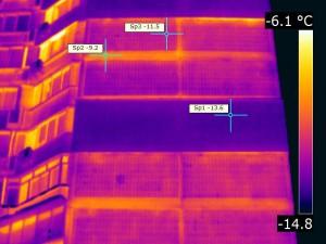 Услуги тепловизионной диагностики, обследование тепловизором